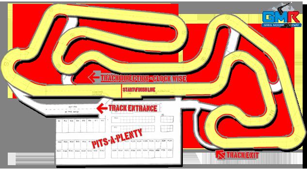 Greg Moore Raceway - GP Circuit